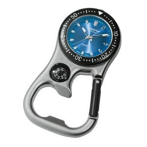 Carabiner Style Unisex Watch
